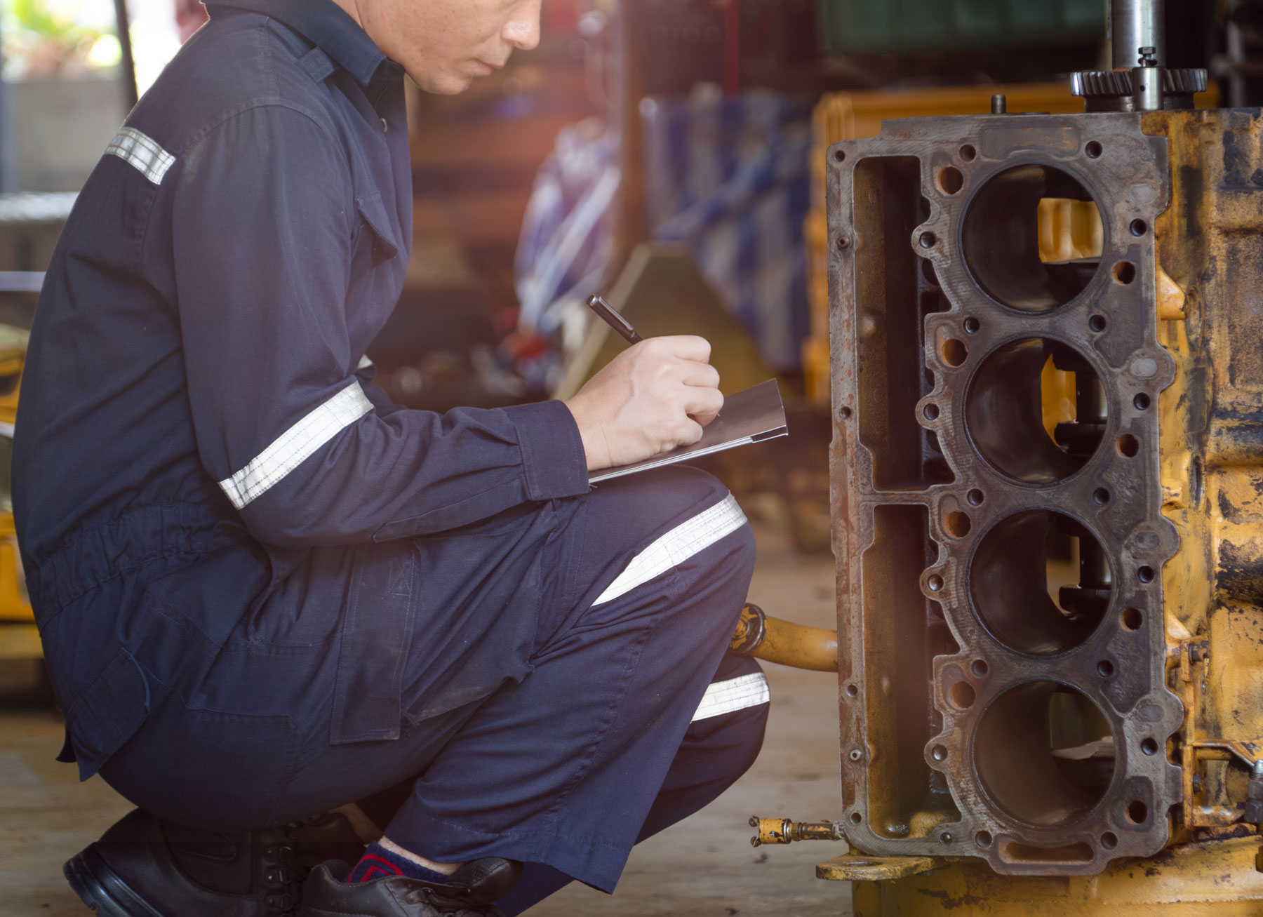 Sachverständiger für Industriediesel- & Gasmotoren